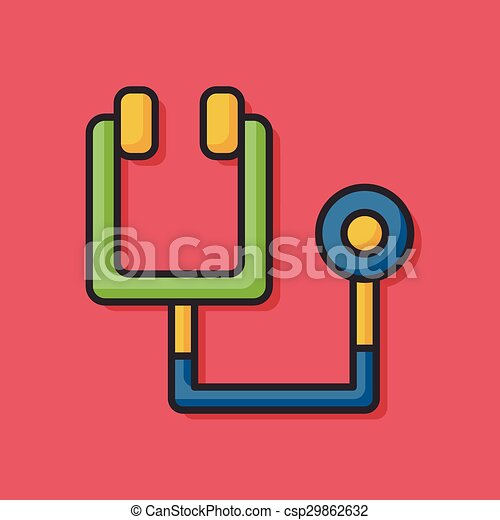 Stethoscope icon - csp29862632
