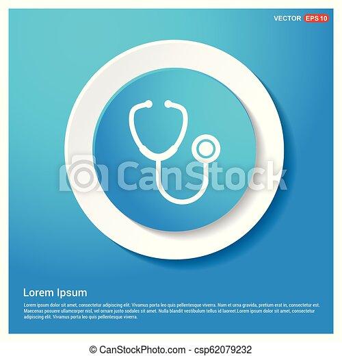 stethoscope Icon - csp62079232