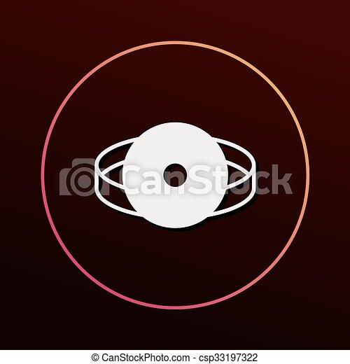 Stethoscope icon - csp33197322
