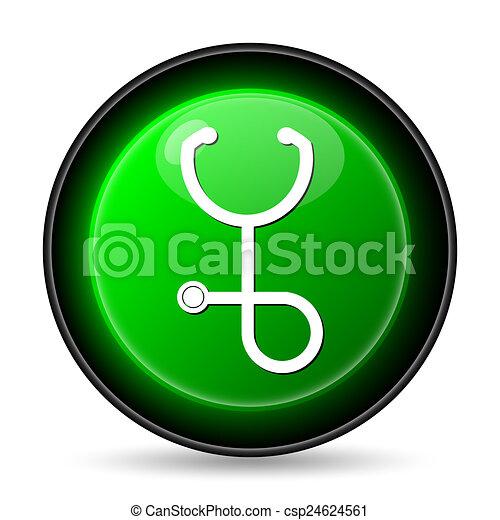 Stethoscope icon - csp24624561