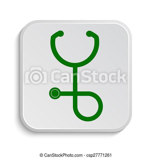 Stethoscope icon - csp27771261