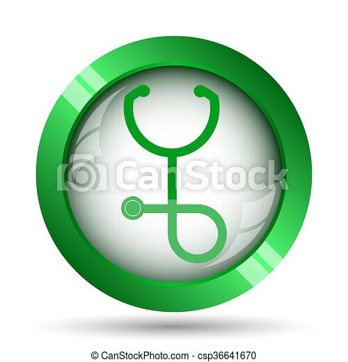 Stethoscope icon - csp36641670