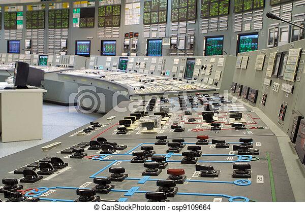 steuerung, pflanze, zimmer, betreiben generation, nuklear, russische - csp9109664