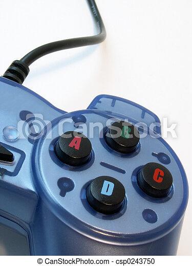 steuerung, spiel, video - csp0243750