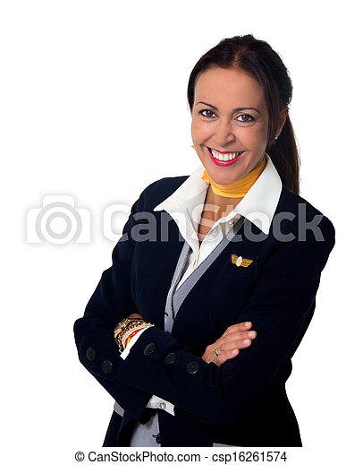 stewardess - csp16261574
