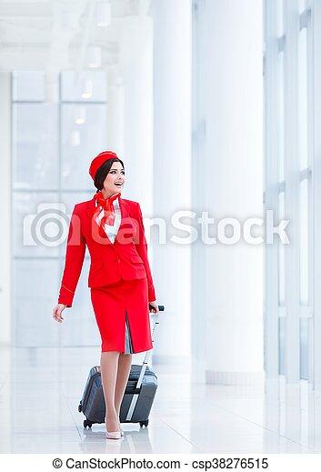 Stewardess - csp38276515