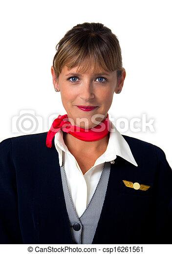 stewardess - csp16261561