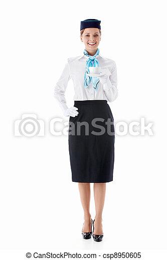 Stewardess - csp8950605