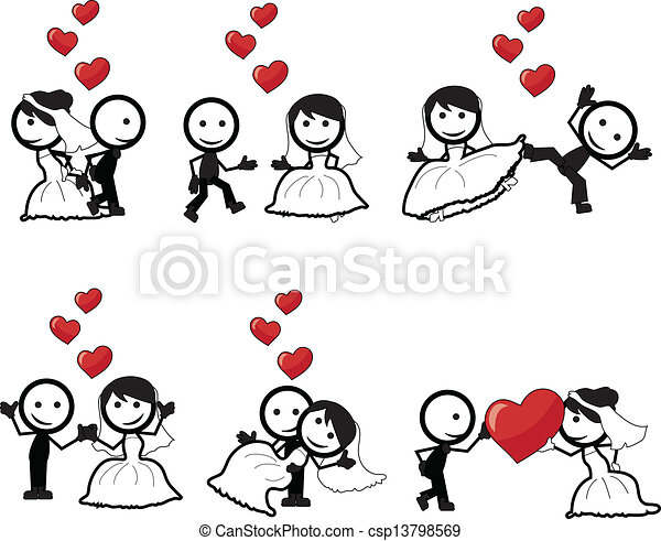 stick figure wedding stick figure lovers with different poses