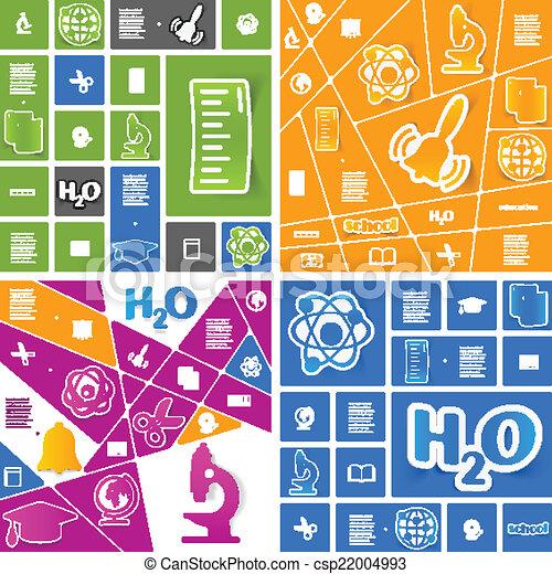 sticker, infographic, opleiding - csp22004993