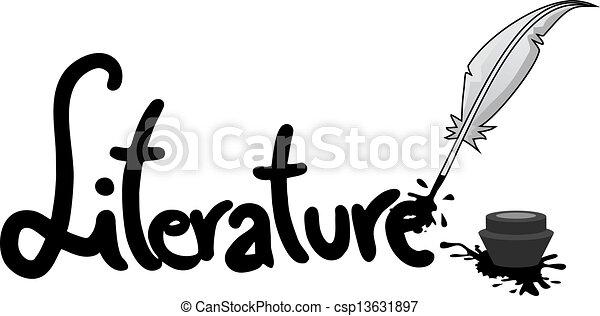 sticker, literatuur - csp13631897