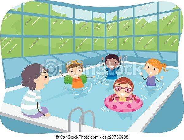 Stickman Kids Indoor Swimming Pool