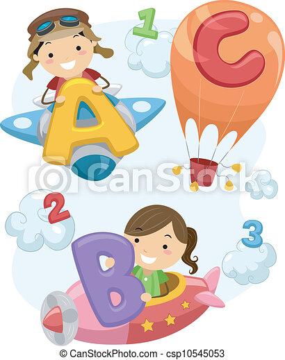 Stickman Preschool - csp10545053
