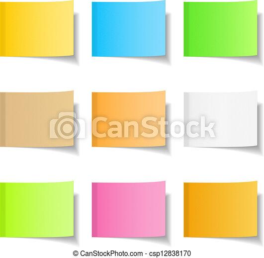 Sticky Notes - csp12838170