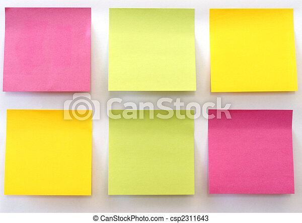 Sticky Notes - csp2311643