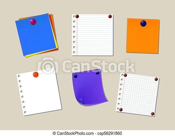 memo papers