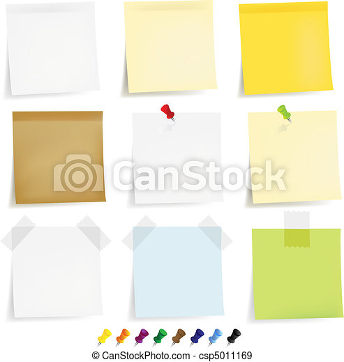 Sticky Papers Set - csp5011169