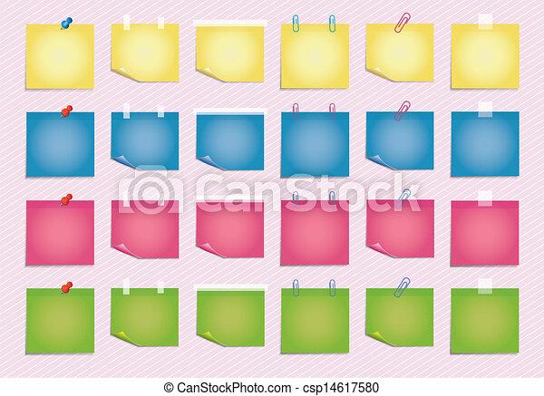 Sticky Sheet  - csp14617580