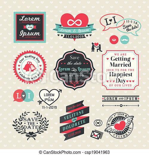 stijl, communie, ouderwetse , etiketten, trouwfeest, lijstjes - csp19041963