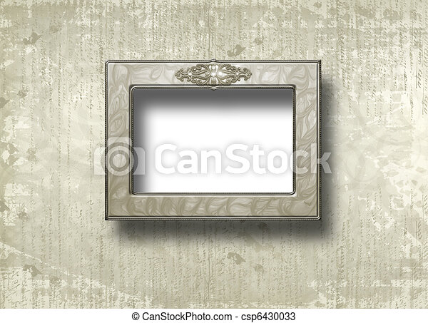 stijl, scrapbooking, frame, ontwerp, papieren, grunge - csp6430033