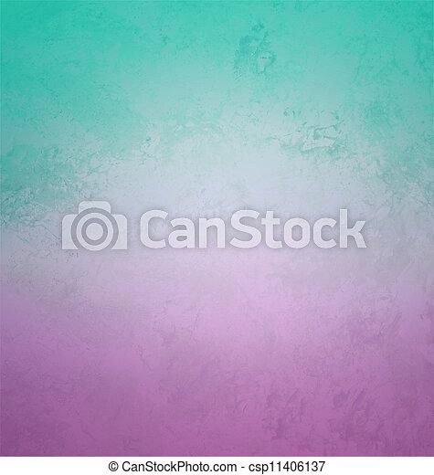 stil, lutning, färger, papper, retro, violett, cyan - csp11406137