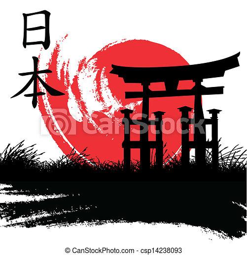 stile, giapponese - csp14238093