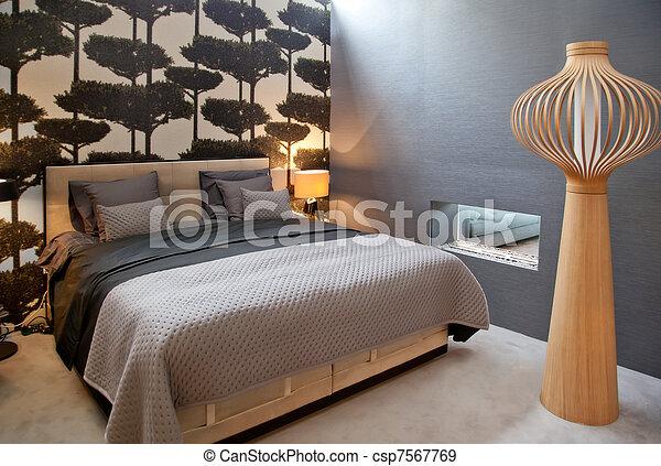 stile, letto, classico - csp7567769