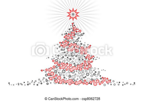 Immagini Natalizie Stilizzate.Stilizzato Albero Disegno Natale Illustartion