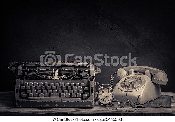 still life office - csp25445508