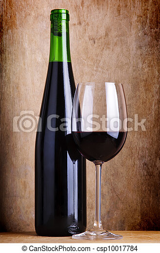 still life with red wine - csp10017784