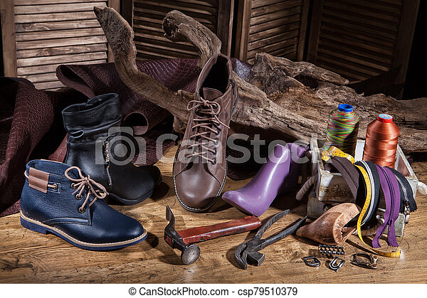 Still Life WIth Shoes - csp79510379