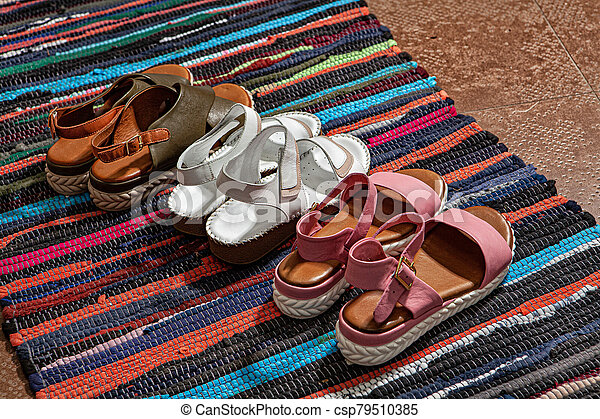 Still Life With Shoes - csp79510385