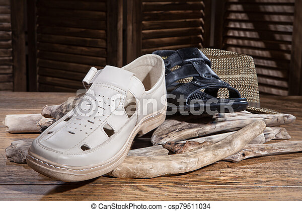 Still Life WIth Shoes - csp79511034