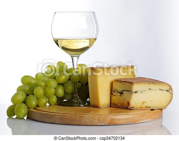 Still life with wine - csp34702134