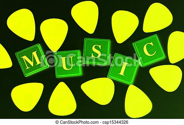 Stimulating Music - csp15344326