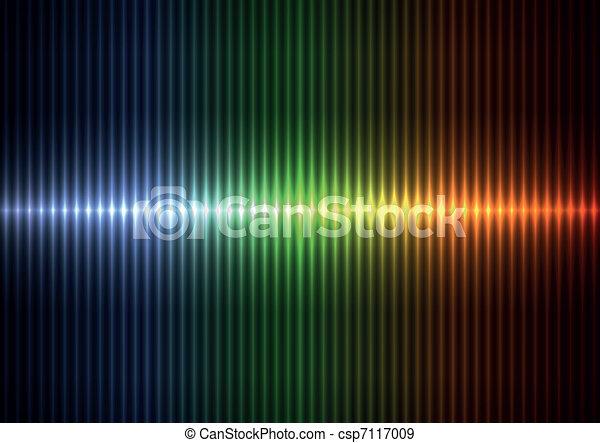 stipes, coloridos, vertical, borrão - csp7117009