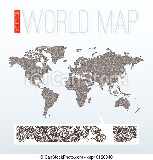 Stippled world map vector illustration eps vector search clip stippled world map vector illustration gumiabroncs Image collections