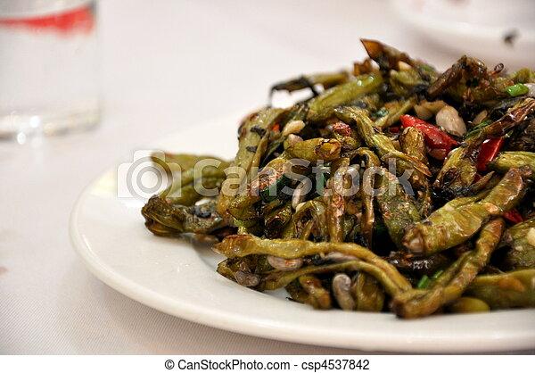 Stir Fried Green Beans - csp4537842