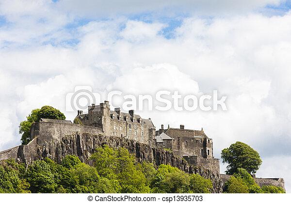 Stirling Castle, Stirlingshire, Scotland - csp13935703