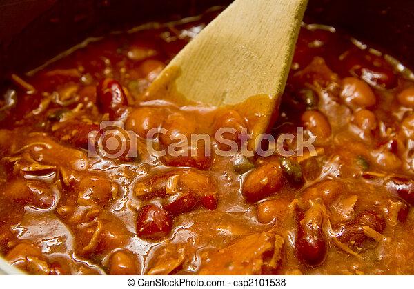 Stirring Hot Chili - csp2101538