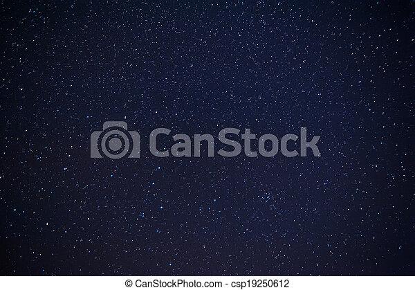 stjärna, sky - csp19250612