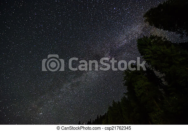 stjärna, sky - csp21762345