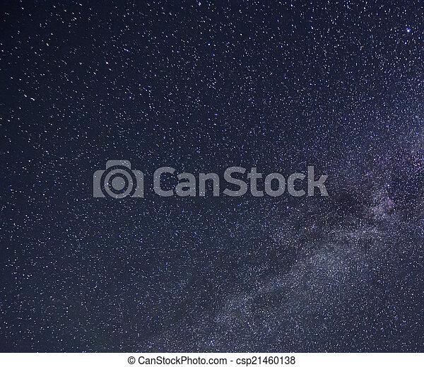 stjärna, sky - csp21460138