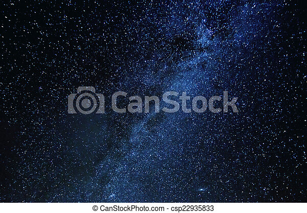 stjärna, sky - csp22935833