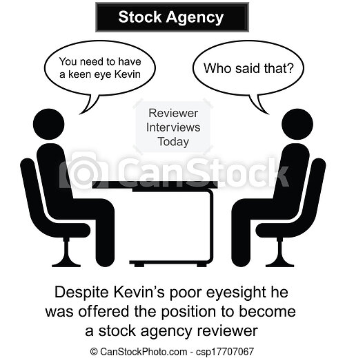Stock Agency Interview - csp17707067