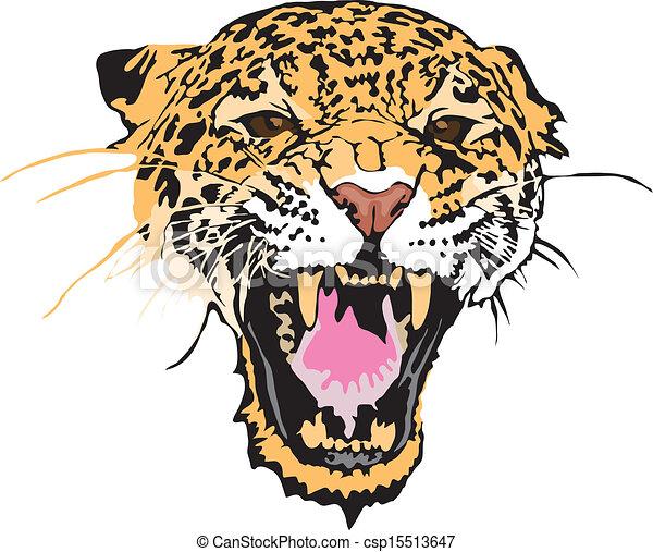 Stock Illustration - leopard - csp15513647