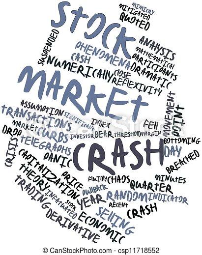 Stock market crash - csp11718552
