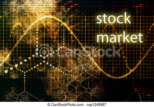 Stock Market Abstract Business Concept Wallpaper Background Canstock