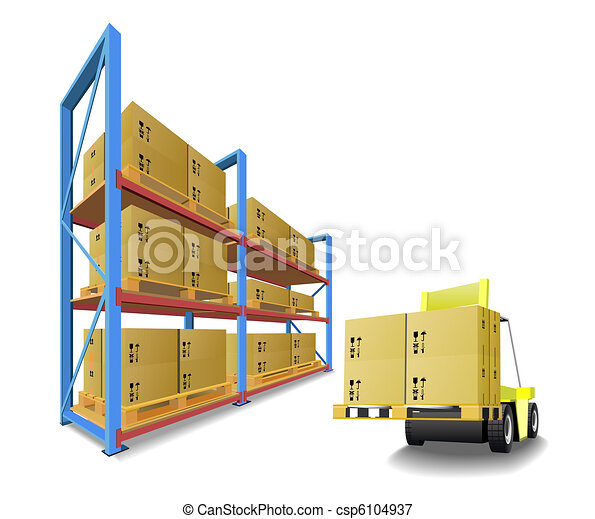 stockage, equipment. - csp6104937