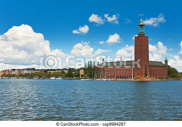 Stockholm City Hall - csp9994287